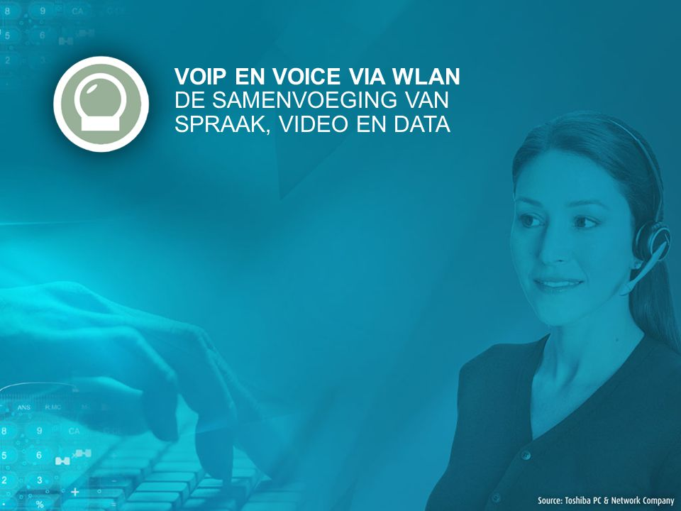 VOIP EN VOICE VIA WLAN DE SAMENVOEGING VAN SPRAAK, VIDEO EN DATA