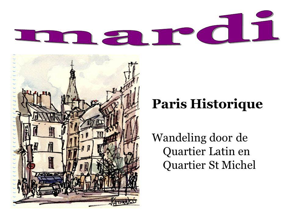 Paris Historique Wandeling door de Quartier Latin en Quartier St Michel