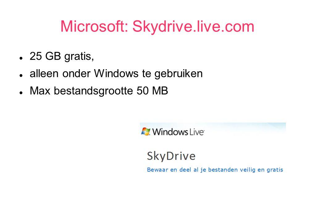 Dropbox via browser