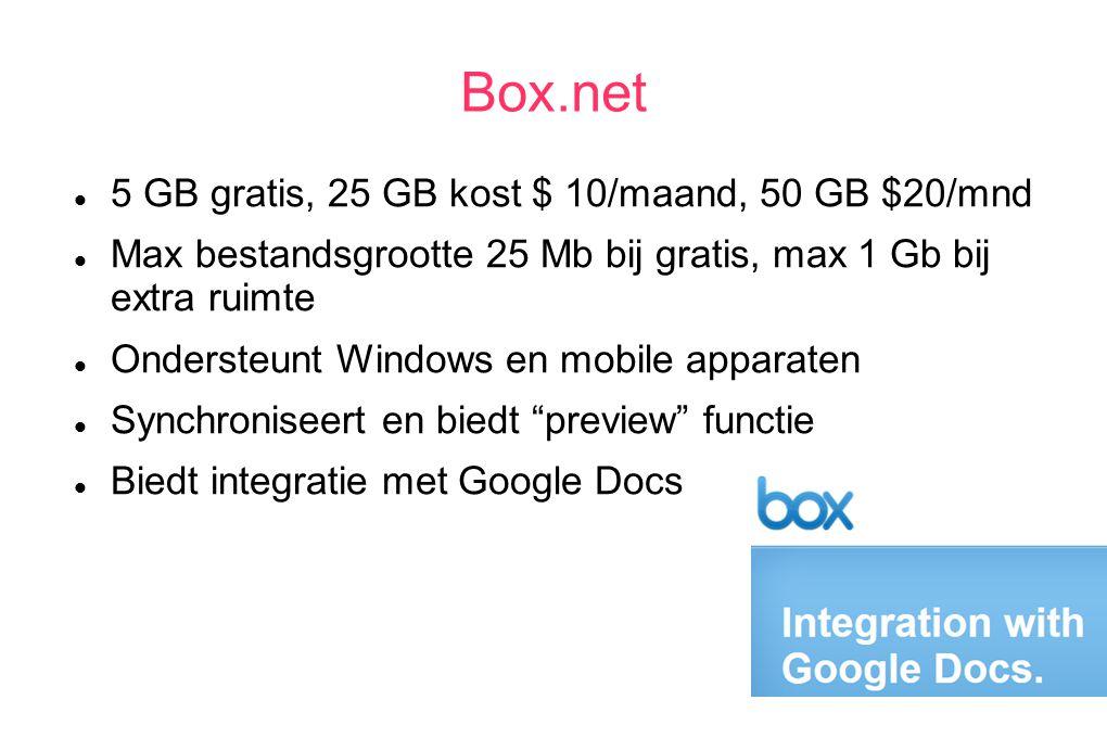 Door web-access kun je overal (met toegang tot internet) bij je gegevens Je hoeft je PC of andere apparatuur niet mee te nemen