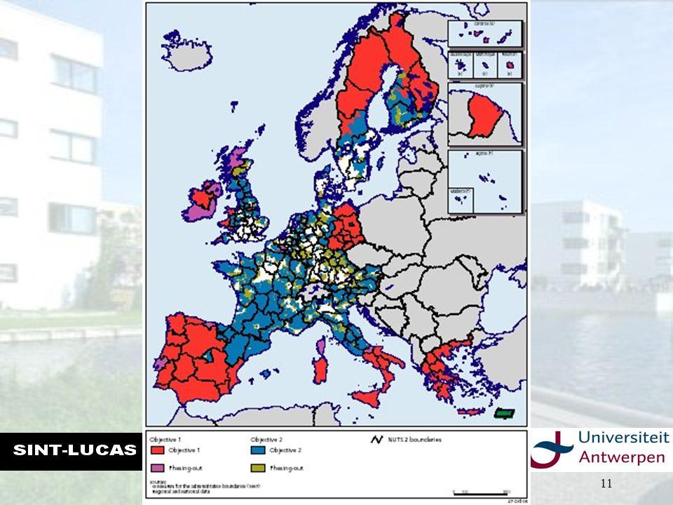 ECONOMISCHE ASPECTEN VAN DE STEDENBOUW THIERRY VANELSLANDER – ACADEMIEJAAR 2007-2008 11