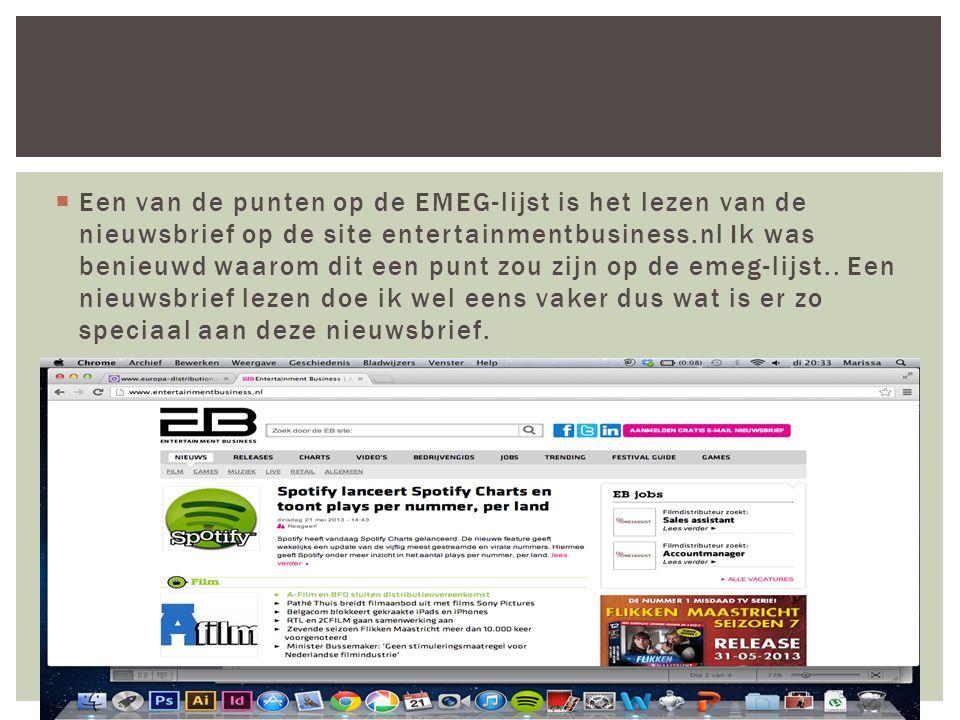  Het eerste wat je ziet als je de site opent is dat de nieuwtjes gaan over alles wat te maken heeft met entertainment, muziek, event en gaming.