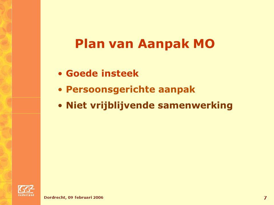 Dordrecht, 09 februari 2006 8 Kanttekeningen Niet-overlastgevers niet vergeten Eenzijdige nadruk op overlast Te kort door de bocht Rest van het land