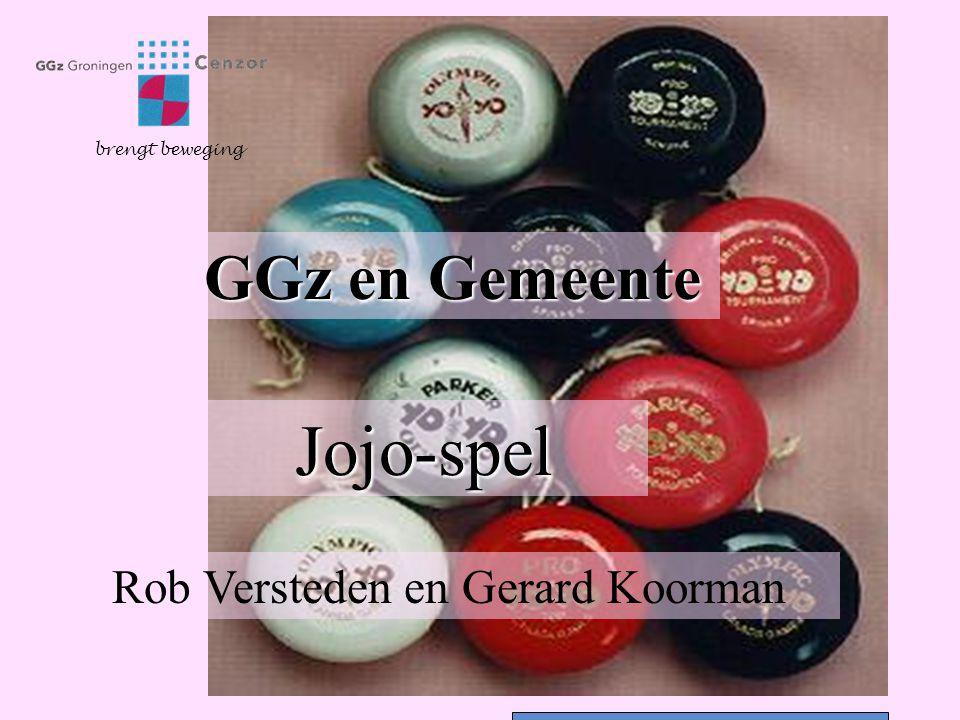 GGz en Gemeente Jojo-spel brengt beweging Rob Versteden en Gerard Koorman