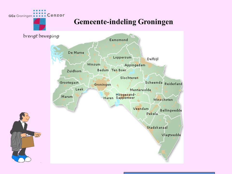 Gemeente-indeling Groningen brengt beweging