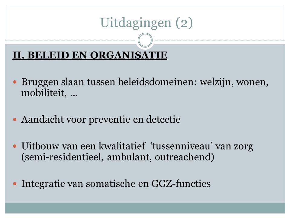 Uitdagingen (2) II.