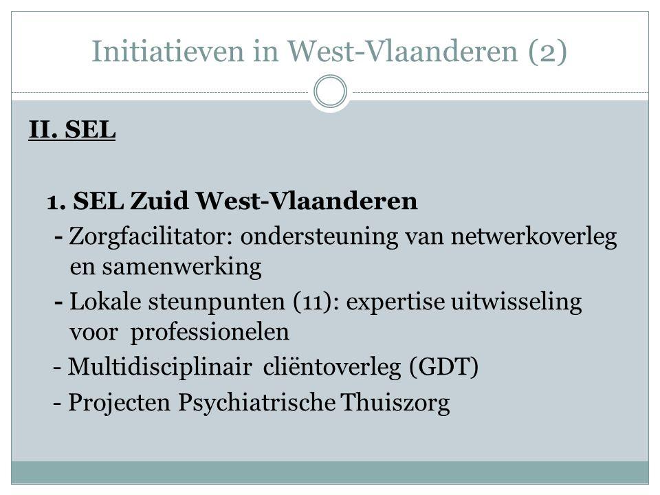 Initiatieven in West-Vlaanderen (2) II.SEL 1.