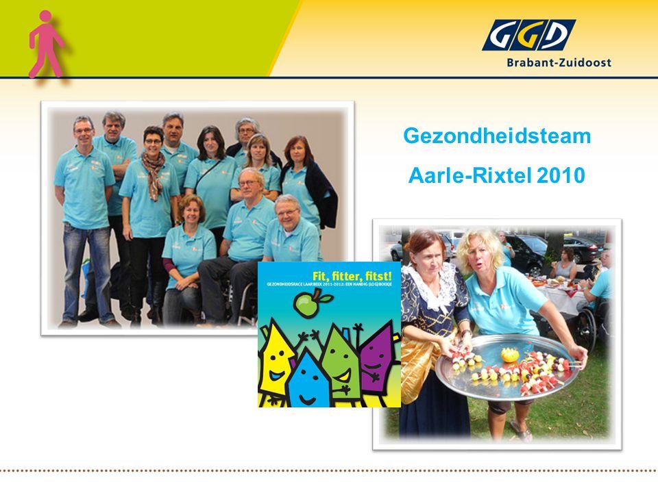 Gezondheidsteam Aarle-Rixtel 2010