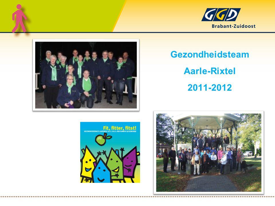 Gezondheidsteam Aarle-Rixtel 2011-2012