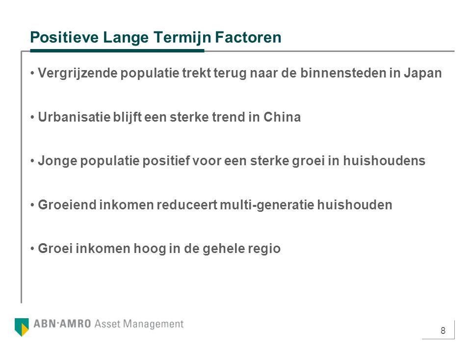 9 Lange Termijn Groei Stedelijke Populatie De lange termijn trend is immigratie richting de steden.
