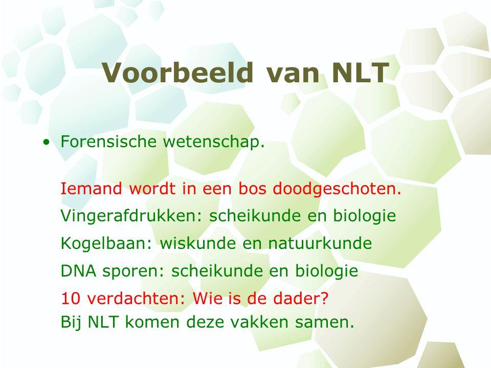 Waarom NLT.