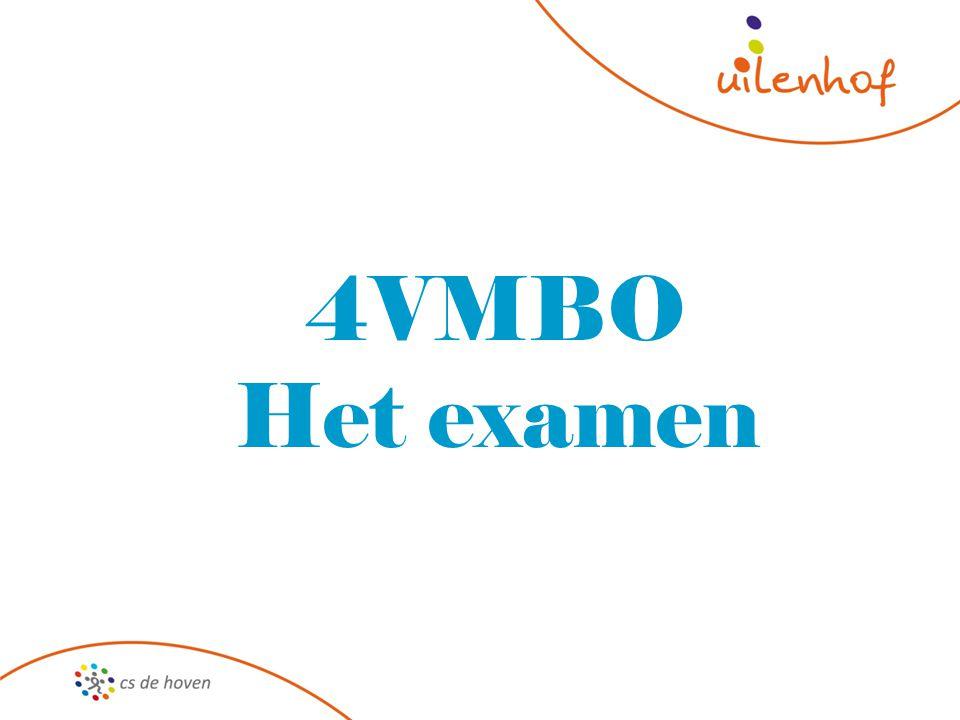 4VMBO Het examen