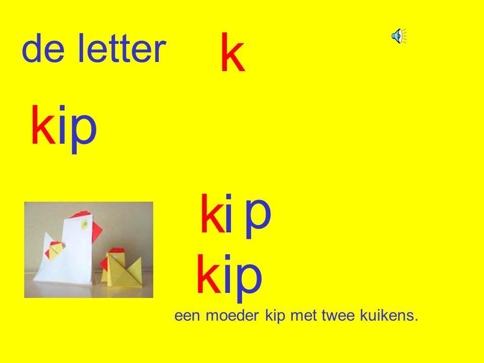 de letter k kip ki p een moeder kip met twee kuikens.
