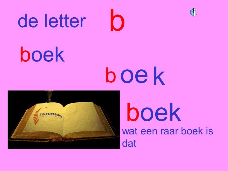 boek b wat een raar boek is dat de letter b oe k boek