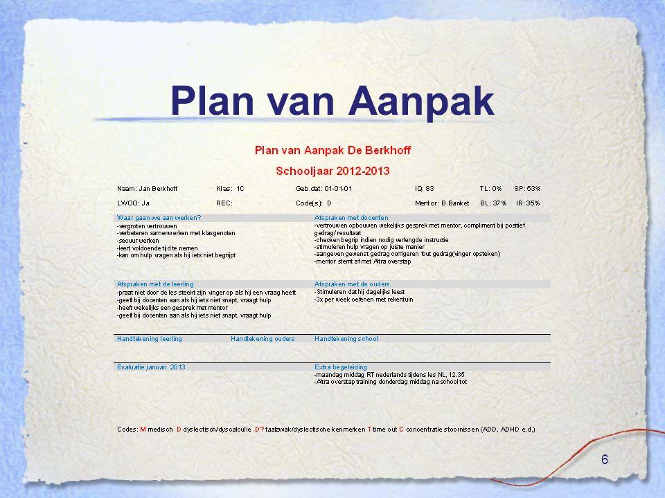 Plan van Aanpak 6