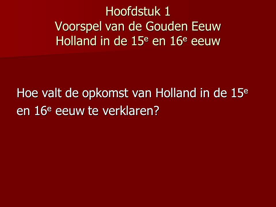 Concurrentie Brugge (tot laatste kwart 15 e eeuw) Brugge (tot laatste kwart 15 e eeuw) Antwerpen; Antwerpen; Rond 1550 80% van export uit de Nederlandse gewesten in handen Financiële hart van de wereldhandel