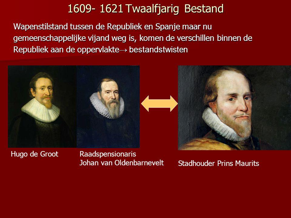1610 De terechtstelling van Johan van Oldenbarnevelt