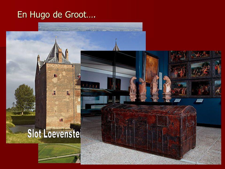 En Hugo de Groot….