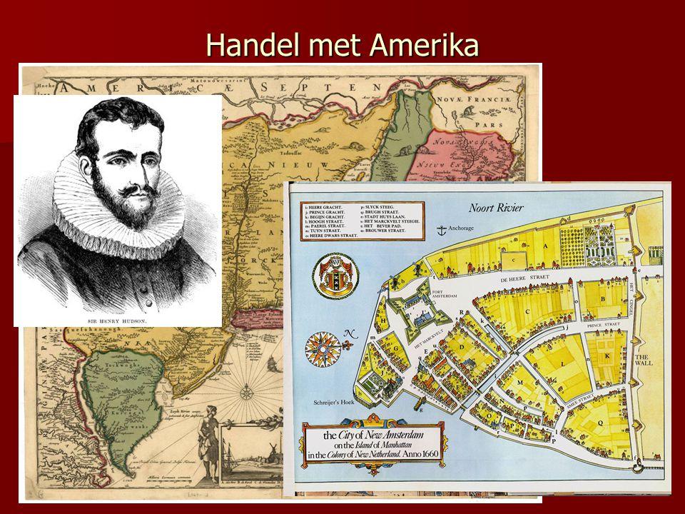 2.2 Organisatie van de handel (Amsterdam) 1609 Wisselbank 1614 Bank van lening 1607 koopmansbeurs