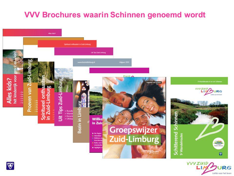 VVV Brochures waarin Schinnen genoemd wordt