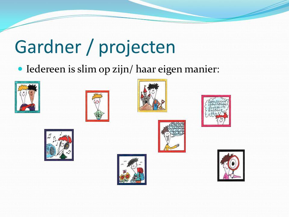 Gardner / projecten Iedereen is slim op zijn/ haar eigen manier: