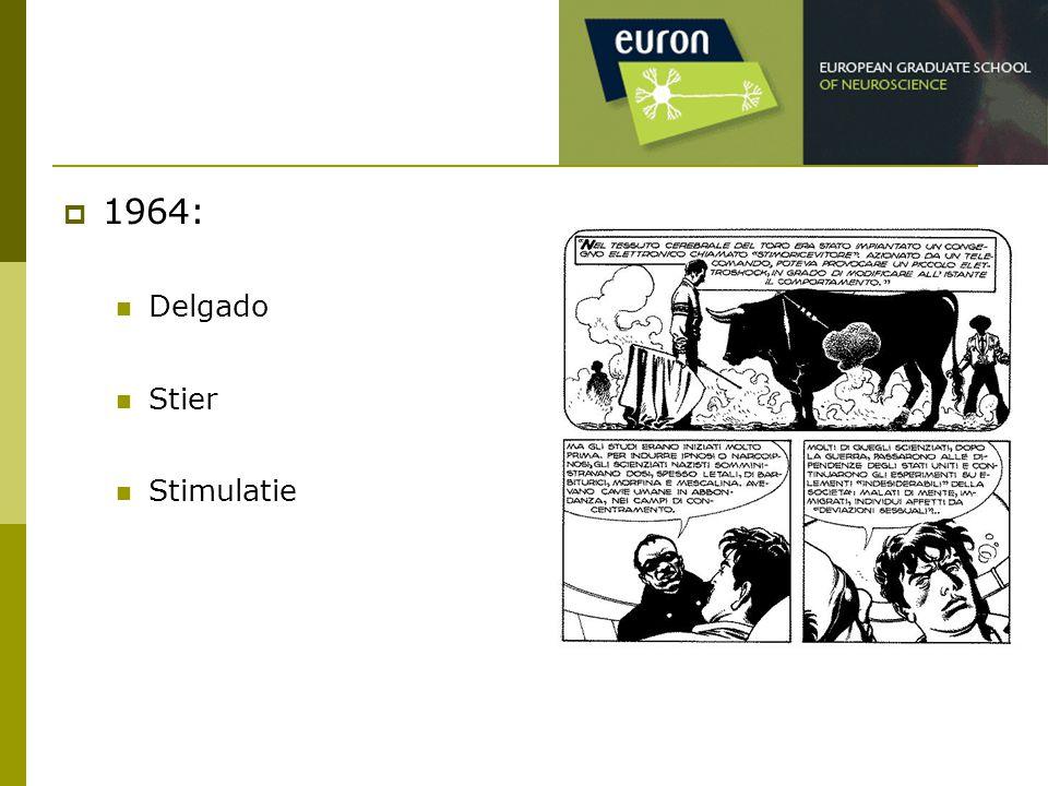  1964: Delgado Stier Stimulatie