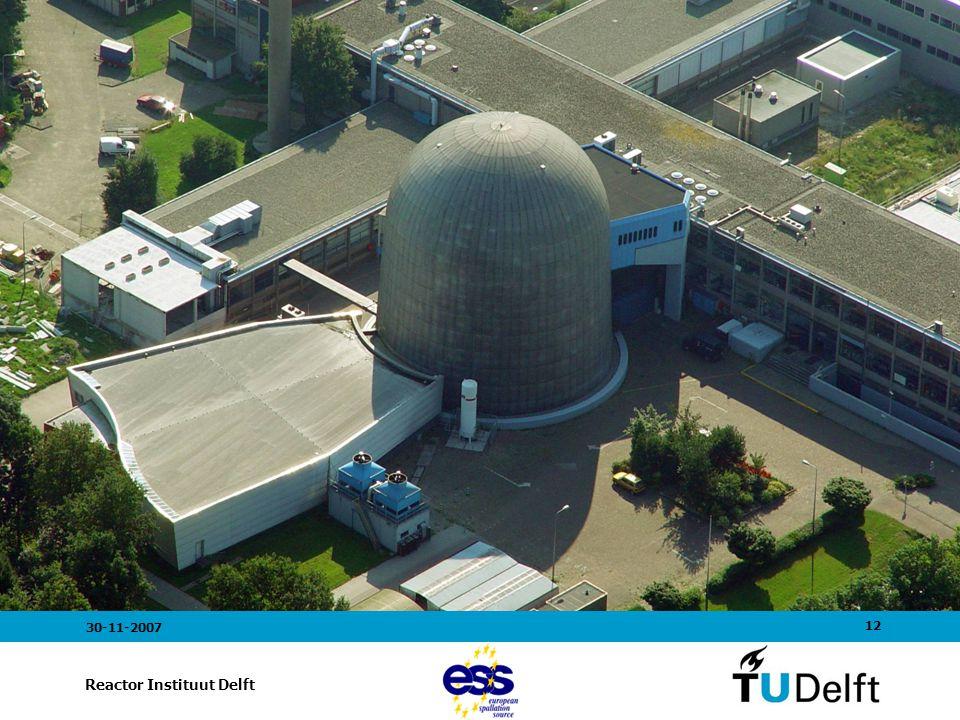 12 Reactor Instituut Delft 30-11-2007