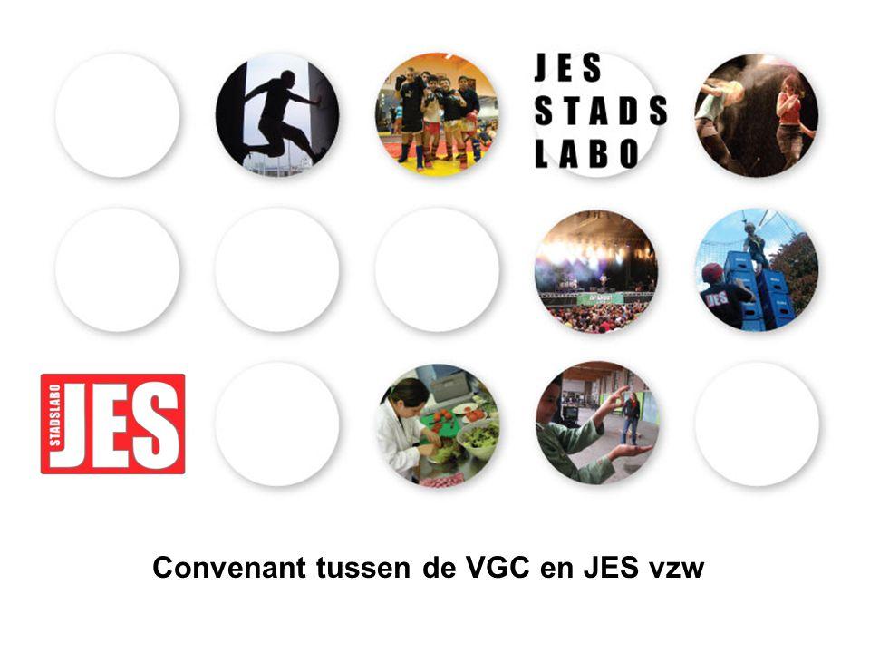 Convenant tussen de VGC en JES vzw