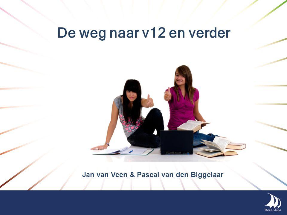 De weg naar v12 en verder Jan van Veen & Pascal van den Biggelaar