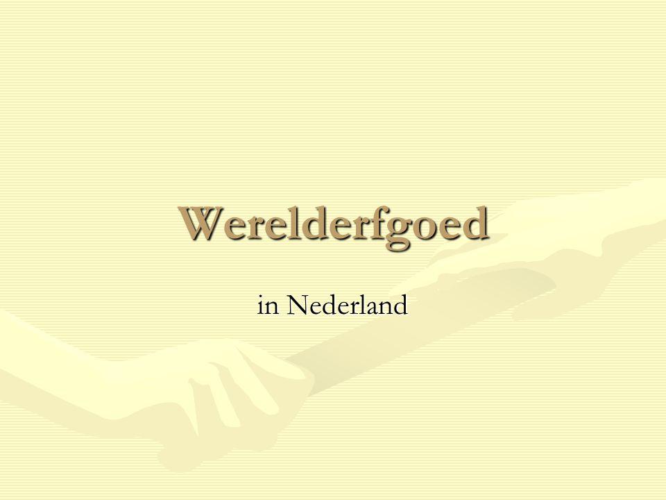Schokland Sinds 1995 als eerste Nederlandse monument op werelderfgoedlijstSinds 1995 als eerste Nederlandse monument op werelderfgoedlijst Symbool van Nederlandse strijd tegen het waterSymbool van Nederlandse strijd tegen het water Was een eiland in de ZuiderzeeWas een eiland in de Zuiderzee Ligt nu in de NoordoostpolderLigt nu in de Noordoostpolder