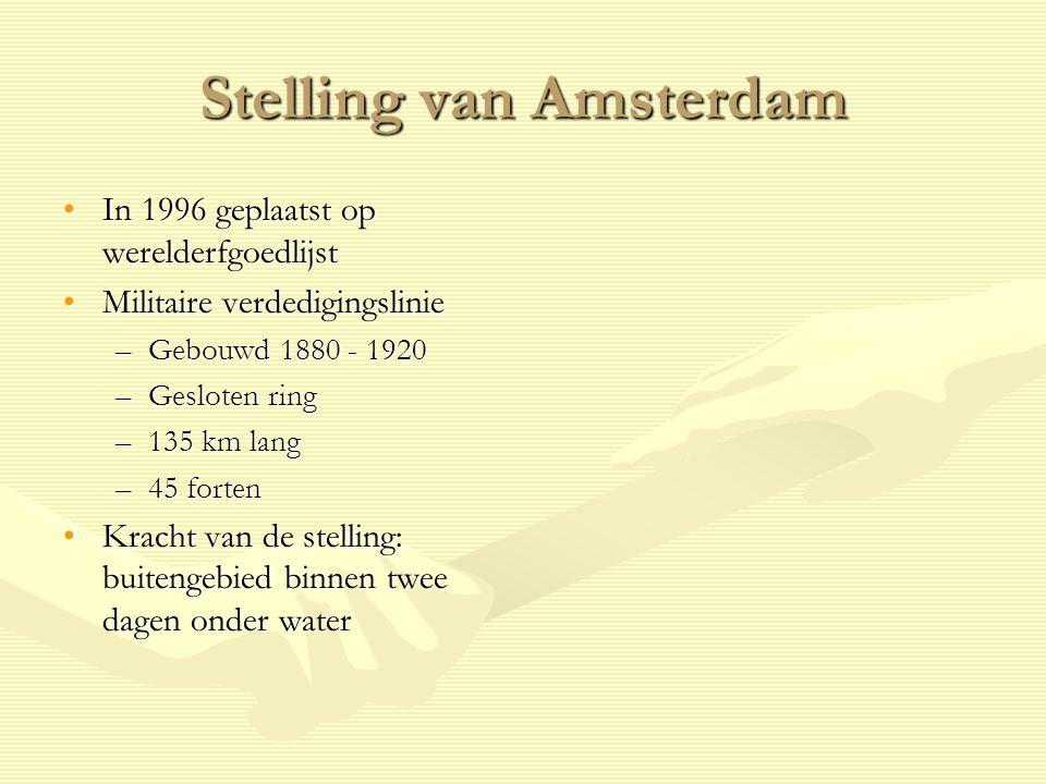 Kinderdijk Sinds 1997 op werelderfgoedlijstSinds 1997 op werelderfgoedlijst KinderdijkKinderdijk –Dorp vlakbij Rotterdam –Heeft 19 molens, gebouwd rond 1740 De molensDe molens –Zijn goed onderhouden en nog steeds in gebruik –Pompen overtollig water uit de Alblasserwaard naar de rivier de Lek