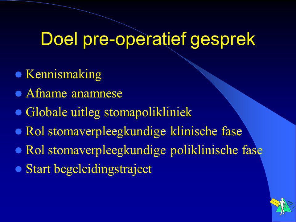 Onderwerpen Spijsverteringskanaal Operatie Wat is een stoma.