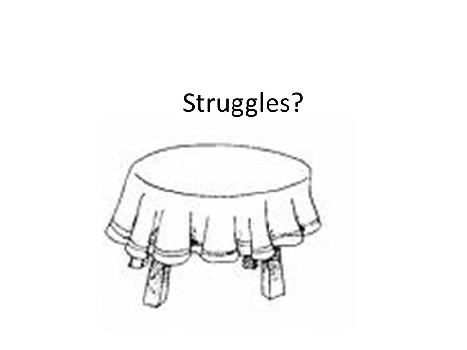 Struggles?