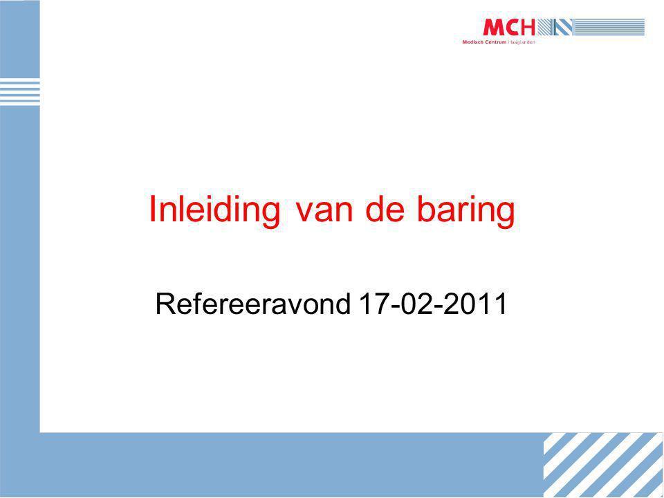 Inleiding van de baring Refereeravond 17-02-2011