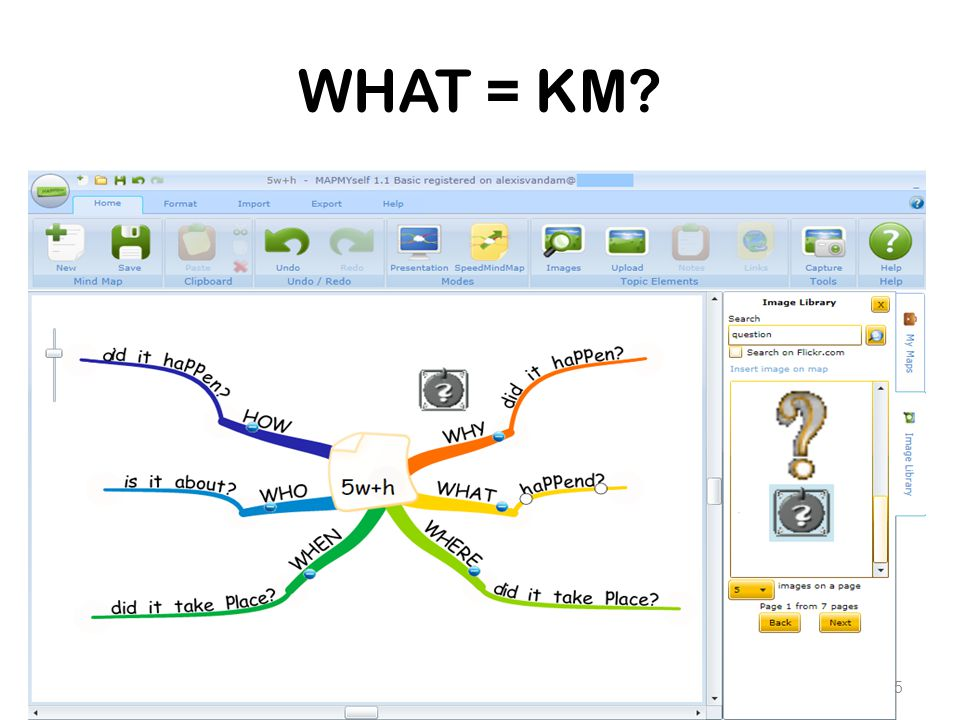 WHAT = KM? 5