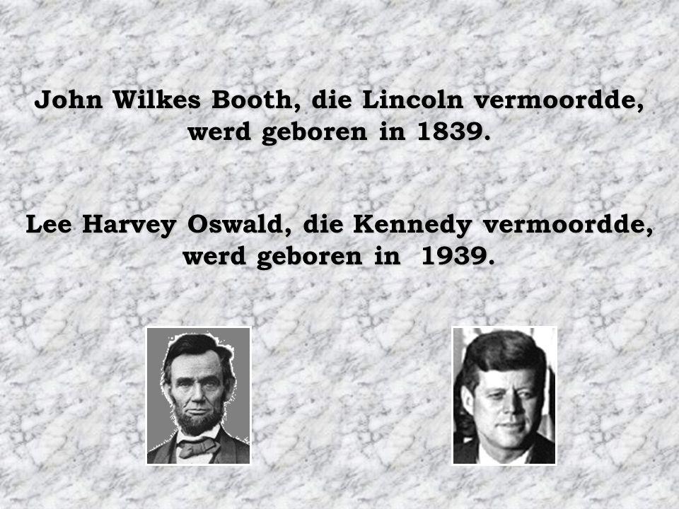 De naam van ieder van hun opvolgers bestond uit 7 letters, beide heetten Johnson. Andrew Johnson, die Lincoln opvolgde, werd geboren in 1808. Lyndon J
