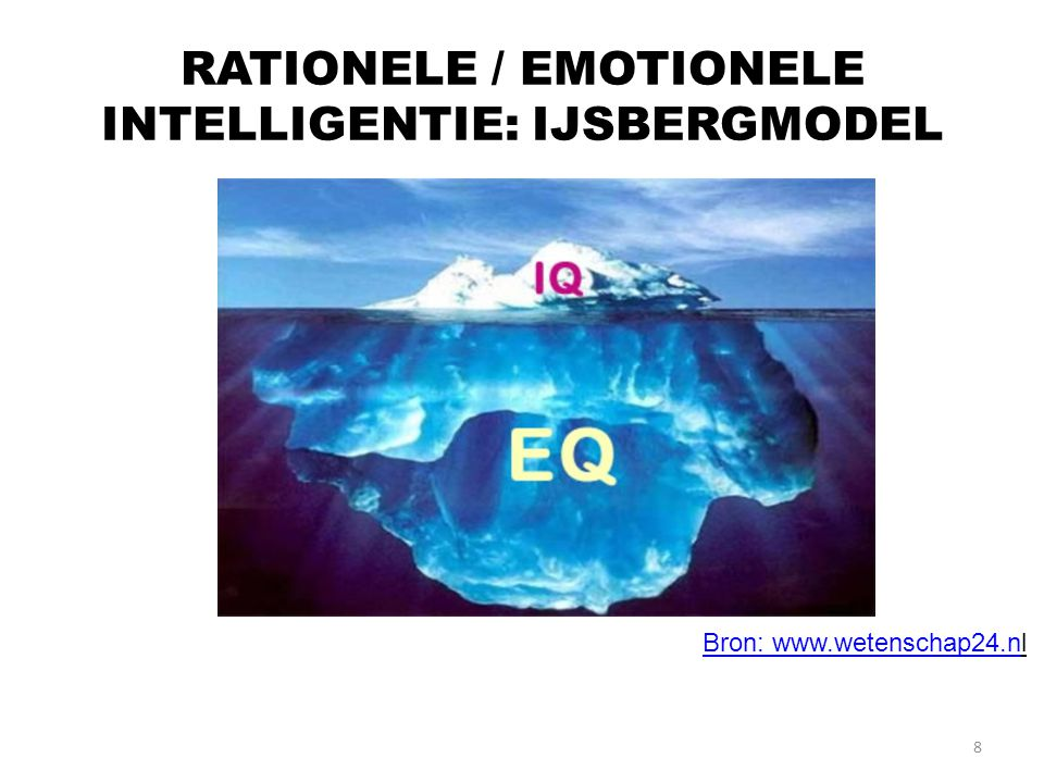 9 BEKENDE AUTEUR EQ: DANIEL GOLEMAN (EMOTIONAL INTELLIGENCE): EQ IS VEEL BELANGRIJKER DAN IQ.