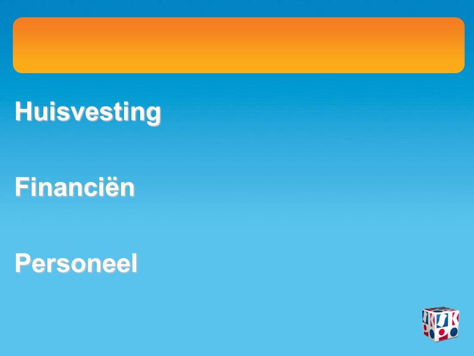 HuisvestingFinanciënPersoneel