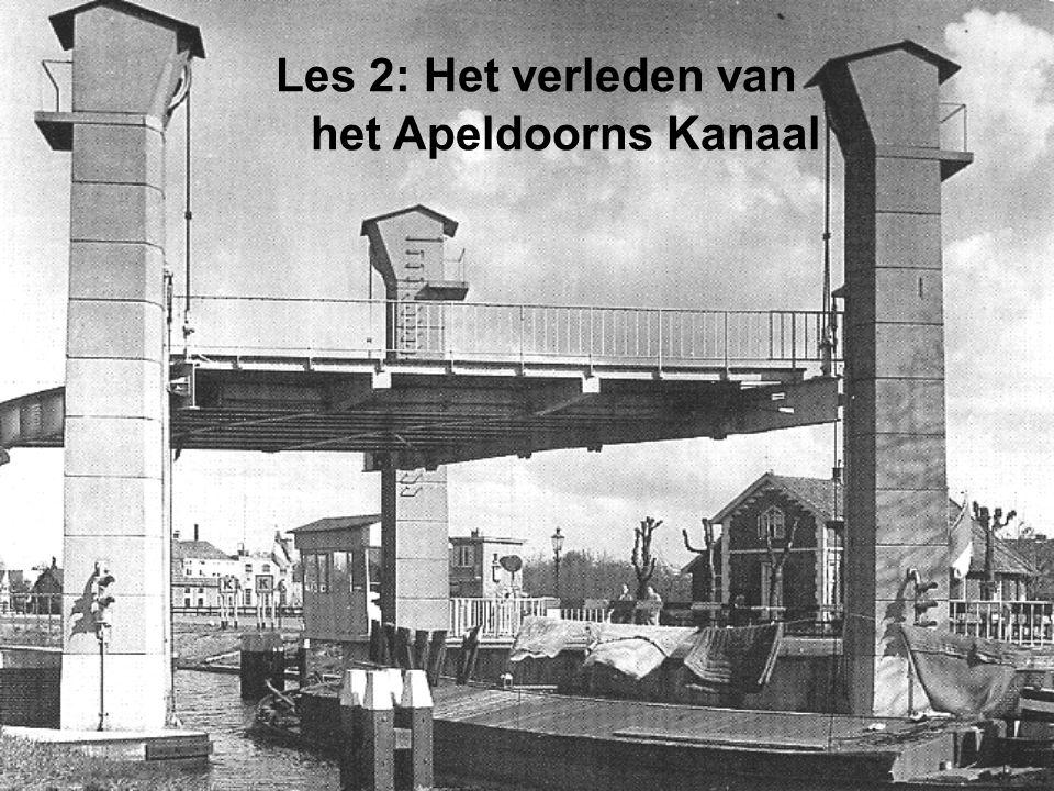 Les 2: Het verleden van het Apeldoorns Kanaal