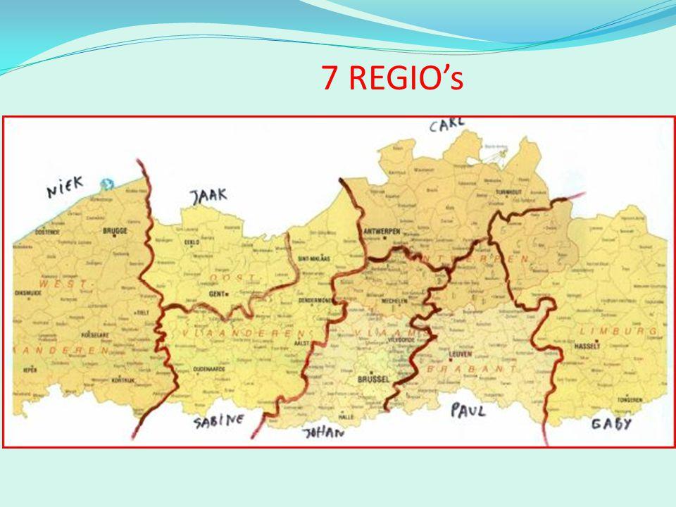 7 REGIO's