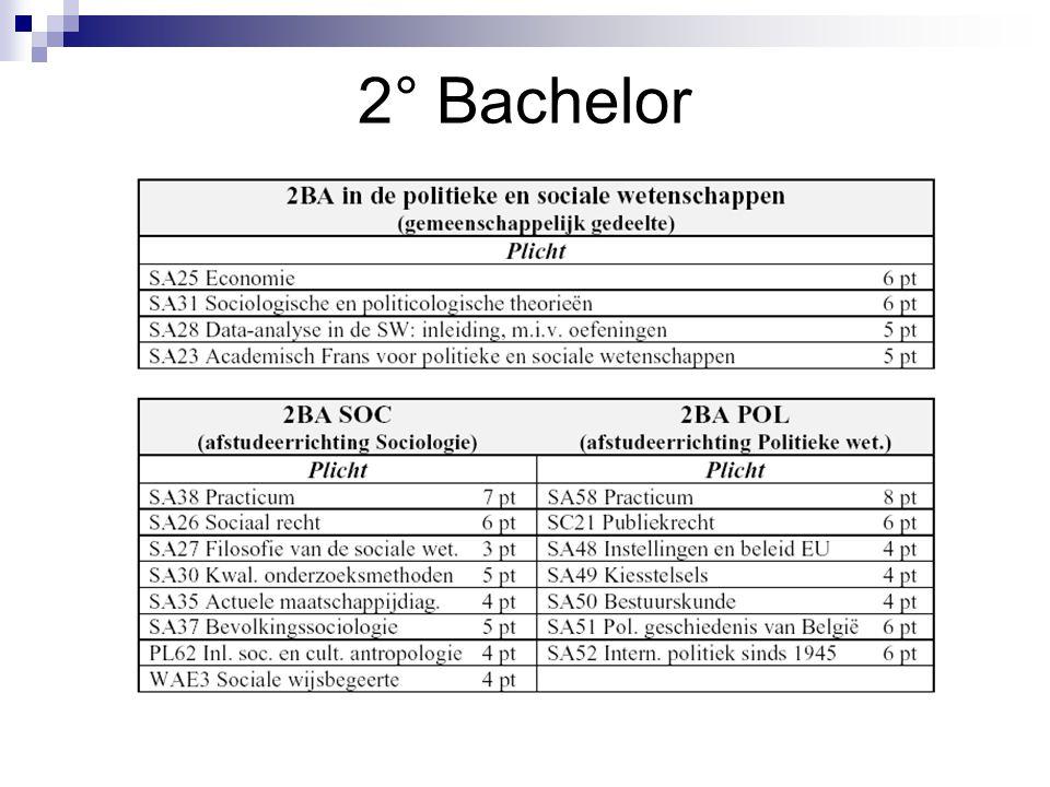 2° Bachelor