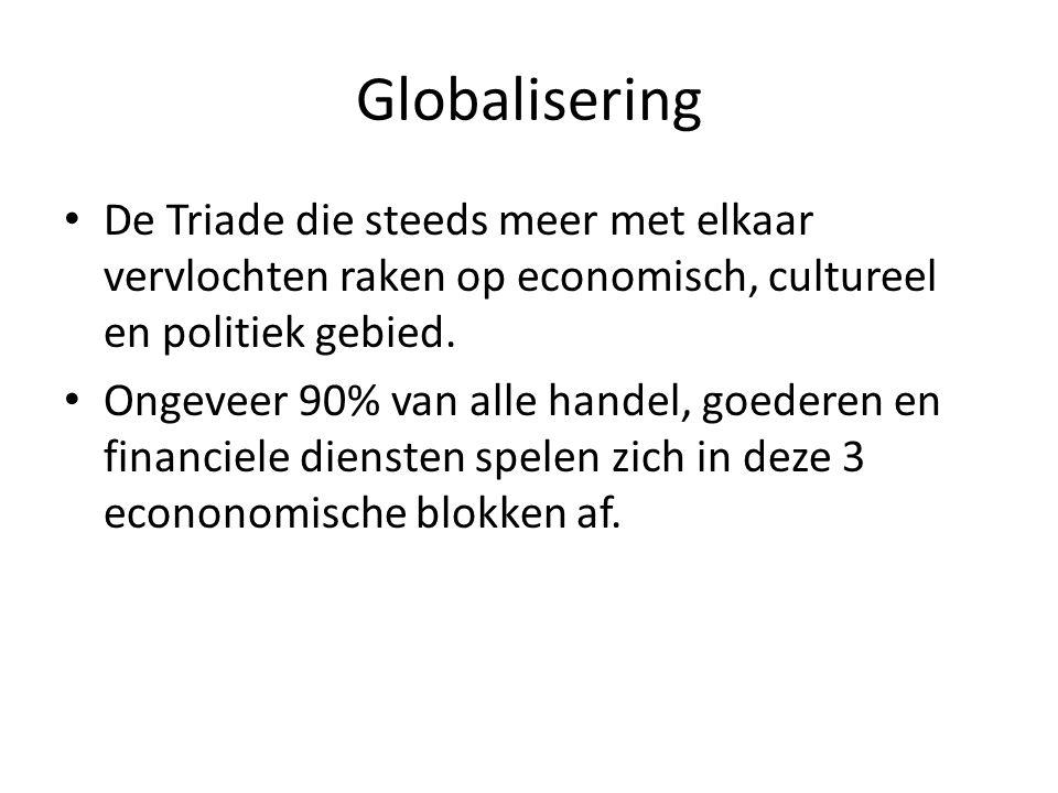 globalisering voordelen Grote afzetmarkt, dus grote O, kleine K en dus grote W.