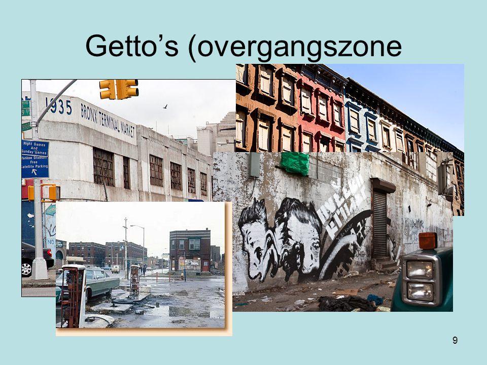 9 Getto's (overgangszone