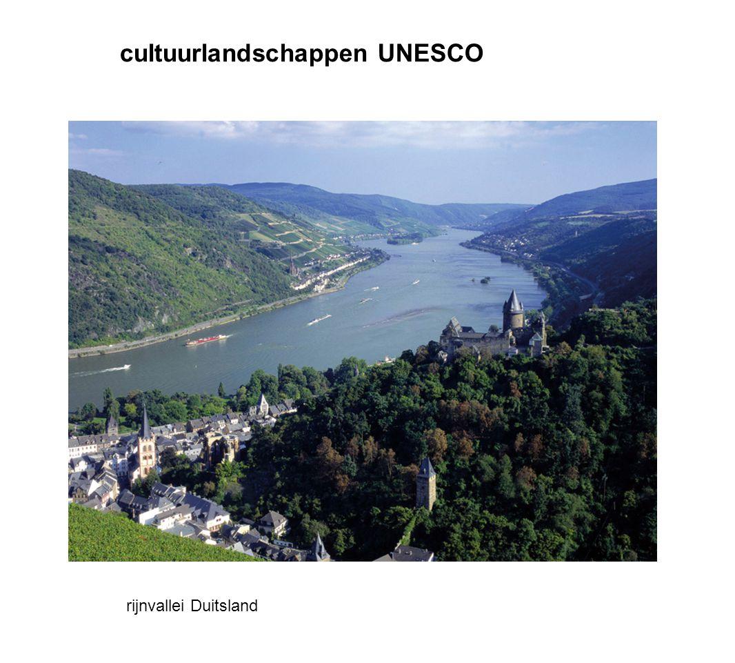 cultuurlandschappen UNESCO rijnvallei Duitsland