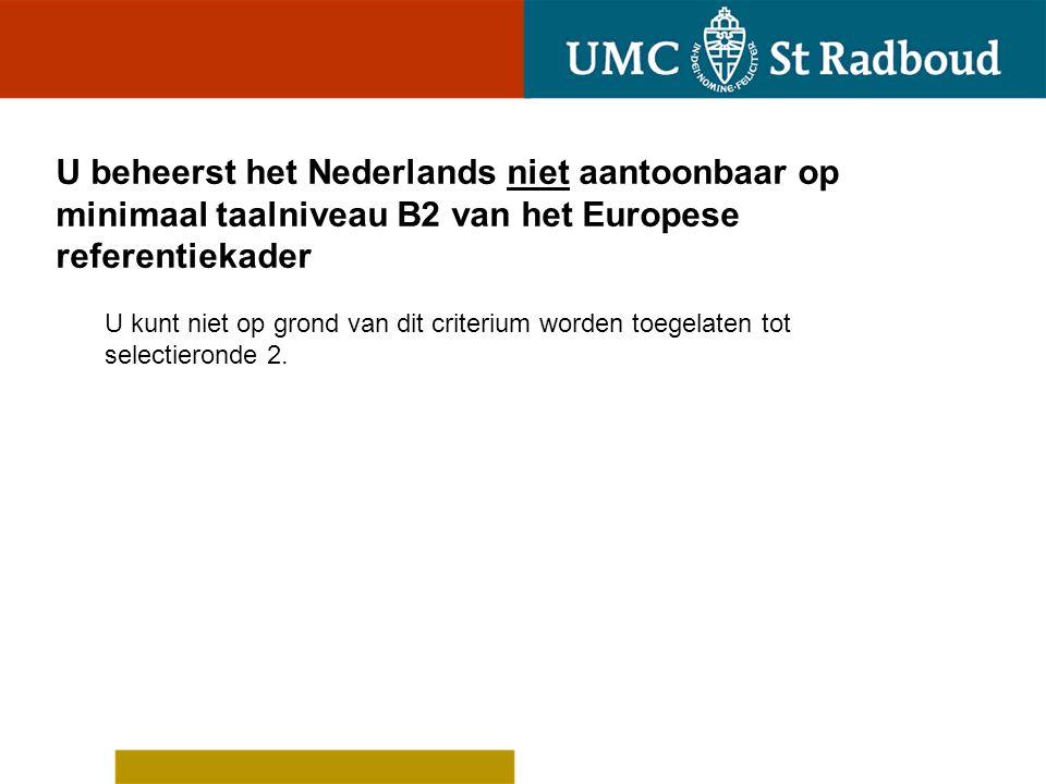 Op grond van de waardering van uw diploma door de Radboud Universiteit bent u toelaatbaar tot de universiteit Upload (een) document(en) waarmee u dit aantoont: Op welke grond acht u zich toelaatbaar tot de tweede ronde van deze decentrale selectie.