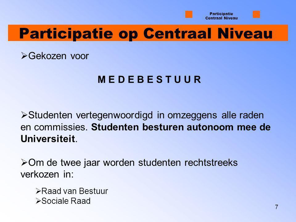 8 Verkiezingskoorts Participatie Centraal Niveau