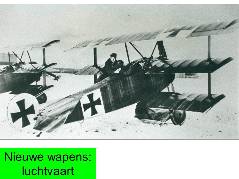 Nieuwe wapens: luchtvaart