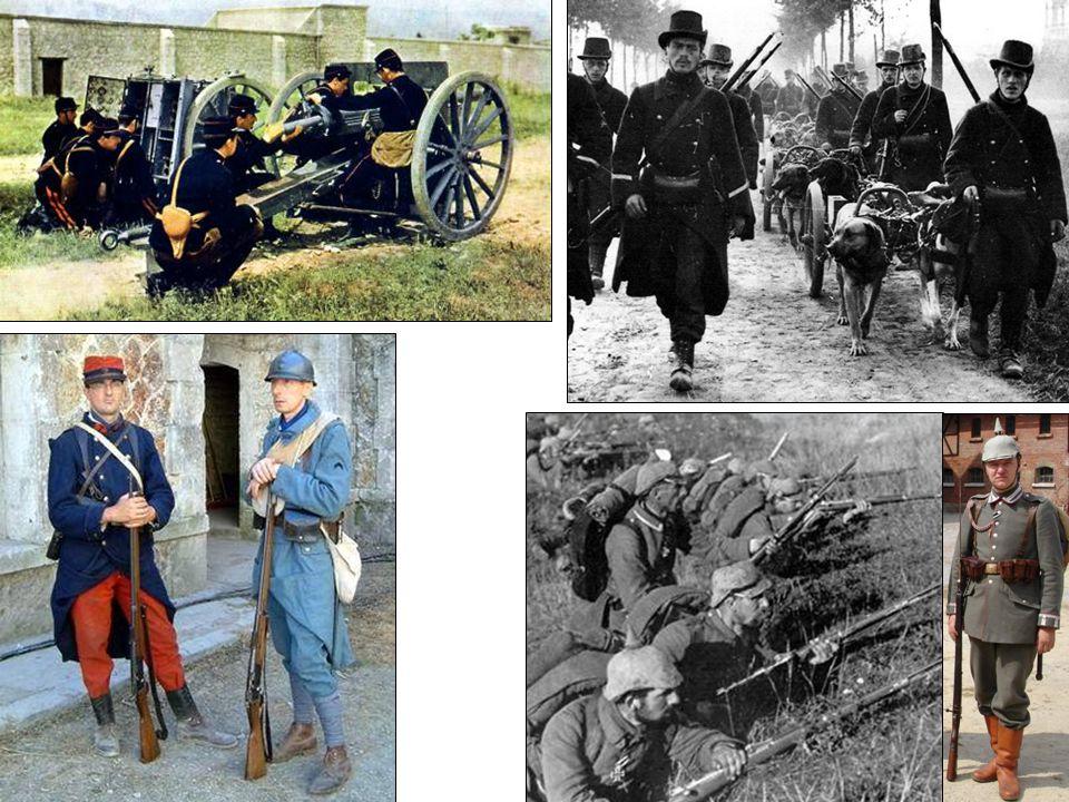 Nieuwe wapens en tactieken: infanterie
