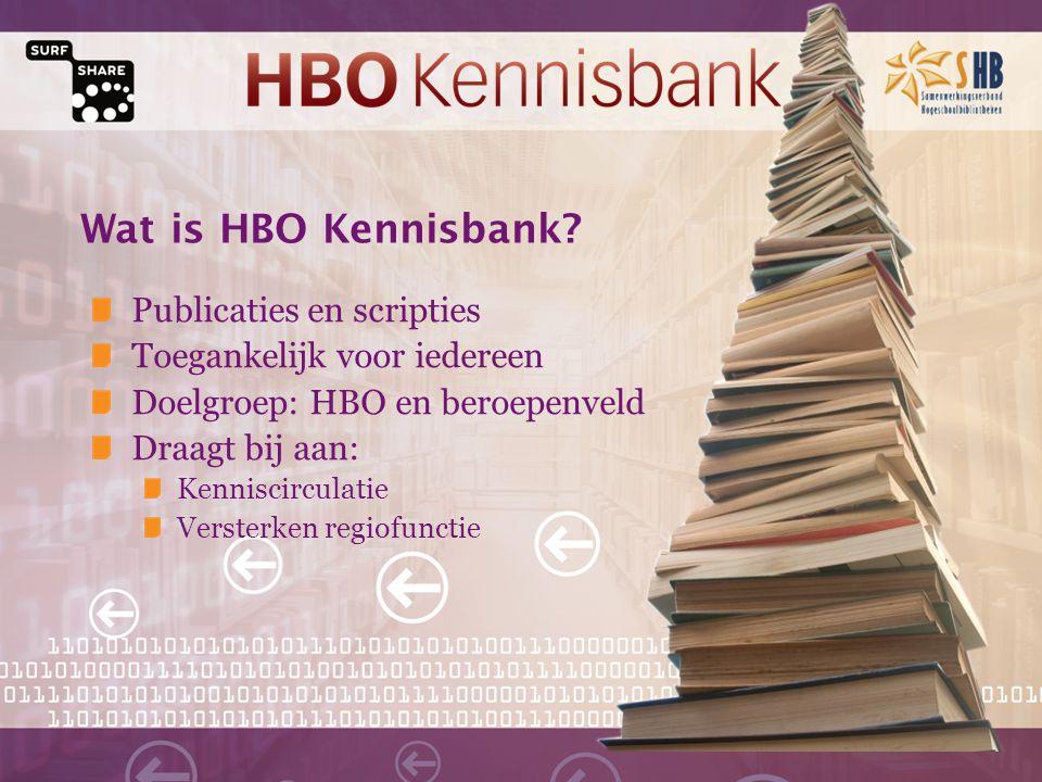 Wat is HBO Kennisbank.