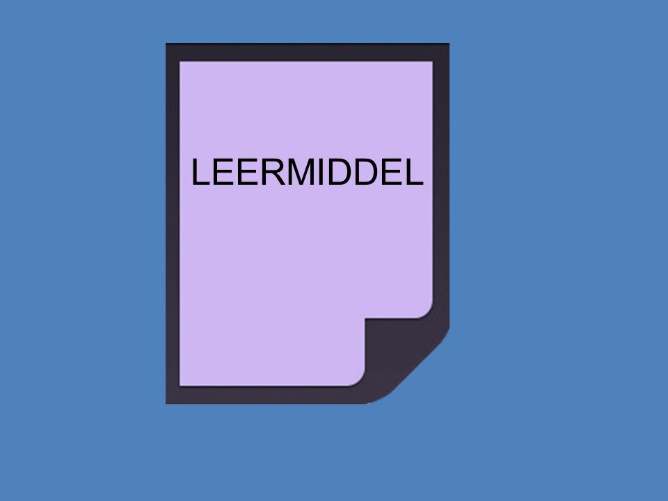 LEERMIDDEL
